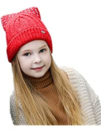 Girl s Novelty Beanies Knit Hats  b458d75adc95