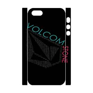 Volcom For iphone5 5S 3D Cell Phone Case White BTY635860