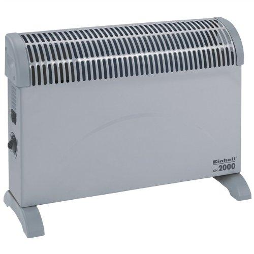 Einhell Konvektor Heizung CH 2000/1 (2000 Watt, 3 Heizstufen, Thermostat, Stand- oder Wandgerät)