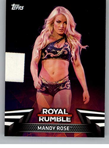 2018 Topps WWE Women's Division Evolution Women's 2018 Royale Rumble Wrestling #RR-4 Mandy Rose