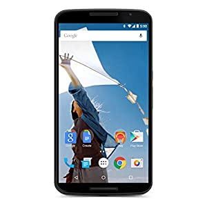 Motorola Nexus 6 XT1103 64GB Unlocked GSM 4G LTE Quad-Core Android Smartphone w/ 13MP Camera – Cloud White (Renewed)