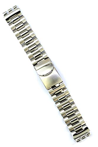 tainless Steel for Swatch Irony Chrono Replacement Watch Band Strap Free Spring BAR Tool SWC149 ()