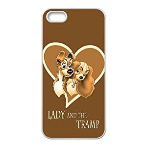 Lady and the tramp Cell Phone Case for iPhone 5S