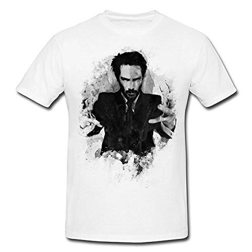Keanu Reeves T-Shirt Herren, Men mit stylischen Motiv von Paul Sinus