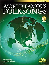 World Famous Folksongs Book With CD