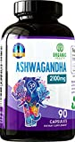 Best Anxiety Medicines - 1950 mg Ashwagandha 100% Organic for Anxiety Review