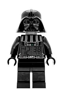 LEGO Kids' 9002113 Star Wars Darth Vader Mini-Figure Light Up Alarm Clock (9.5 Inches Tall)