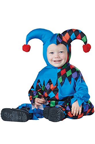 [California Costumes Baby Boys' Lil' Jester Infant, Multi, 18 to 24 Months] (Boy Clown Costumes)