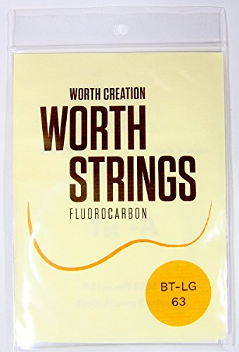 Worth Premium Package Tenor 26'' Ukulele String Brown Color with #4 LowG - Brown 26'