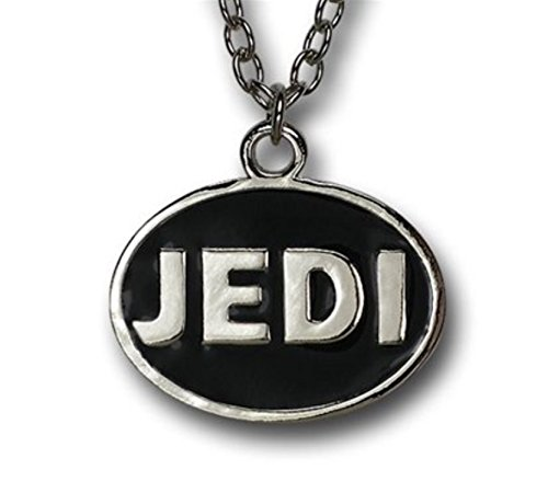 Star Wars Jedi Logo Necklace Pendant Silver Metal Costume Fashion Halloween Gift for $<!--$14.08-->
