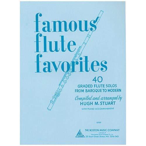 Famous Flute Favorites - Book