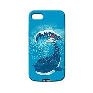 CASE FUNDA BALLENA COLA SURF CARCASA PARA APPLE iPOD TOUCH 4