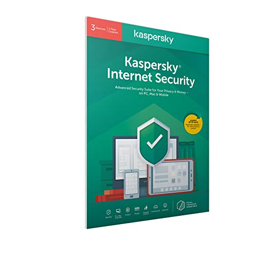 Kaspersky Internet Security 2020 3 Devices 1 Year Antivirus And Secure Vpn Included Pcmacandroid Activation Code By Post3 Devices 1 Year31 Yearpcdownload