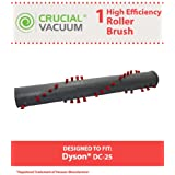 Long Lasting Brush Roller for Dyson DC25 Vacuums; Compare to Dyson Part No. 917391-01, 914123-01; Designed & Engineered by Think Crucial