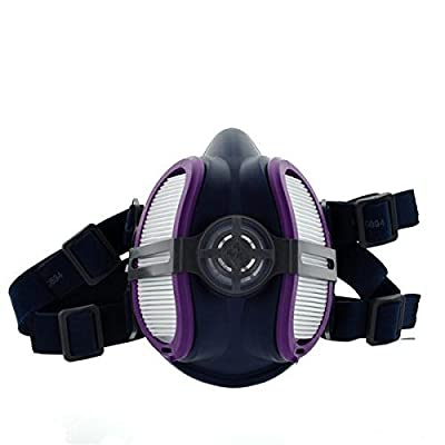 Miller ELECTRICML00895 Half Mask Respirator, M/L, Single Filter from Miller Electric