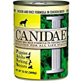 Canidae Canned Dog Food, Chicken and Rice Formula in Chicken Broth, 13-Ounce Can, 12 Count, My Pet Supplies