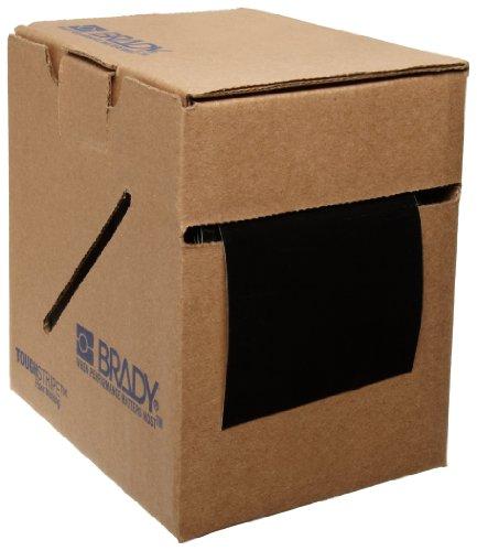 Brady ToughStripe Nonabrasive Floor Marking Tape, 100 Length, 3 Width, Black (Pack of 1 Roll)