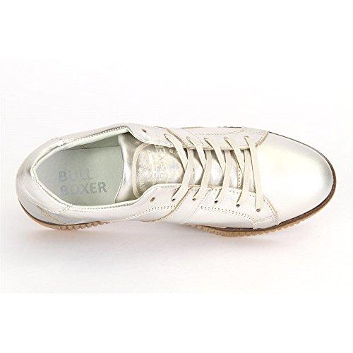 Scarpe argento stringate BULLBOXER donna argento ZaAxBS