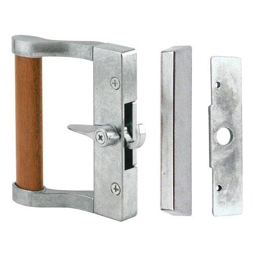 Slide-Co 14200-A Sliding Door Handle Set, Gray Finish