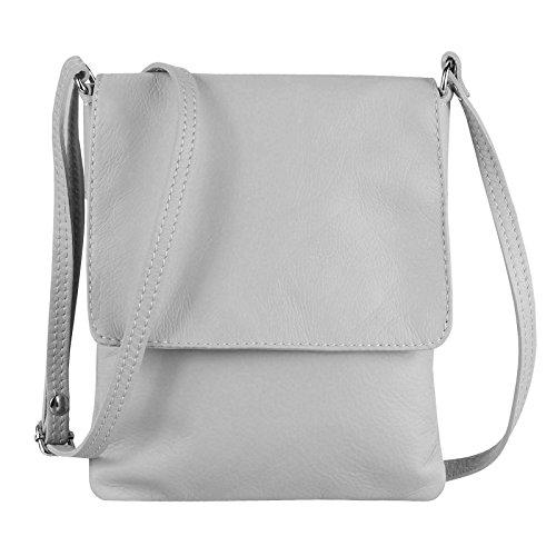 OBC Only-Beautiful-Couture - Bolso cruzados para mujer Gris gris claro 18x22 cm (BxH) gris claro