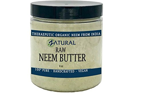 Price comparison product image Organic Neem Butter-Shea Butter, Coconut Oil, Neem Oil, Neem Leaf, Marula Oil, Kokum Butter, Rosemary (8 Ounce)