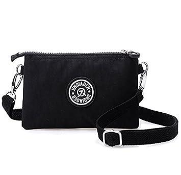 621f268dea0d Small Crossbody Purse for Women Handbags Multi Pocket Bag Cellphone  Wristlet Wallet Clutch Organizer Satchel Pouch