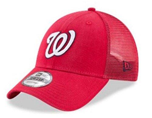 New Era MLB Washington Nationals Baseball Hat Cap 940 Trucker Snapback 11591187
