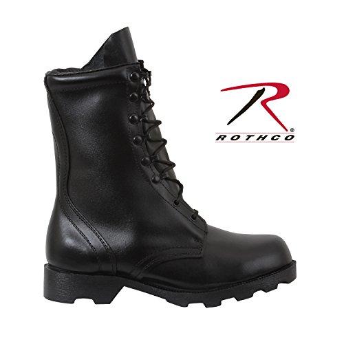 Army Universe Black Leather GI Style Speedlace Combat Boots 5094 Size 9.5 3060663ba09