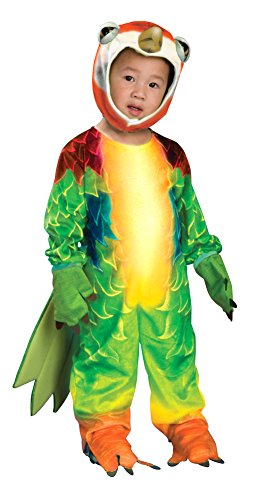 [Baby-Toddler-Costume Parrot Toddler Costume Halloween Costume - 2T-4T] (Parrot Infant Costumes)