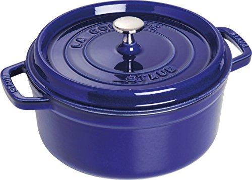 Round La Cocotte (Staub Dark Blue Round Cocotte, 2.75-quart)