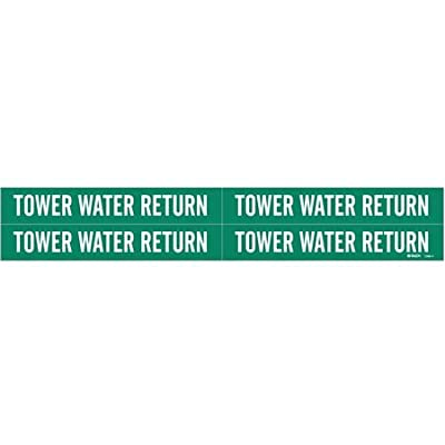 Pipe Mrkr, Tower Water Return, 3/4 to2-3/8