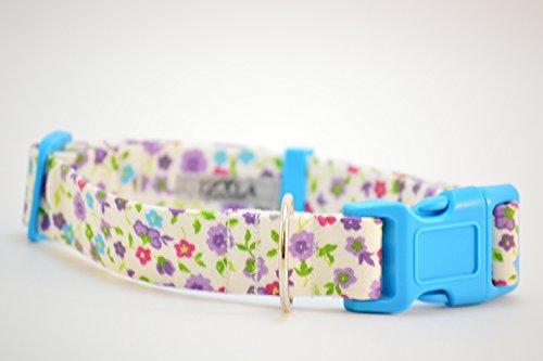 Collar para perro TL Flores de Primavera (Ancho 2, 5cm)