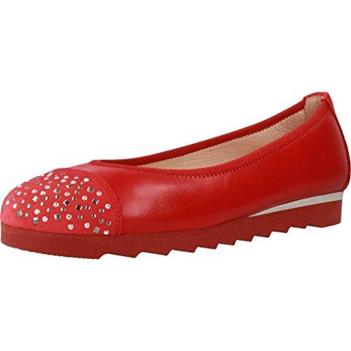 Marca Scarpe Rosso Le Rosso Modello per Ballerina Hispanitas Ballerina Donne Rosso Colore HV86909 Scarpe per Donne Le 70awBvq