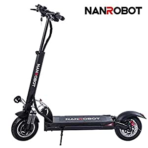 Amazon.com: NANROBOT D5+ - Scooter eléctrico potente de 10 ...