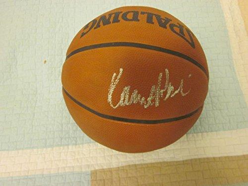Robert Parrish Spalding Tip Off Basketball Autographed Hologram ()