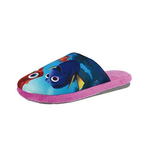 Tierhausschuhe Disney Findet Dorie Nemo Dory Tier Hausschuhe Pantoffel Schlappen Kuscheltier Plüsch Kinder, TH-DoryNemo Dorie Slipper pink