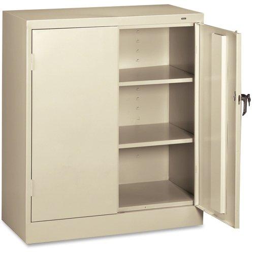tennsco 4218 24 gauge steel standard welded counter high cabinet 2 rh locksmithingny com kitchen high cabinet with shelves metod high cabinet with shelves