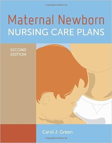 Last ned e bok gratis online Maternal Newborn Nursing Care Plans på norsk PDF PDB