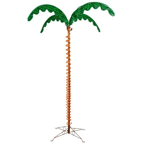Vickerman 7' LED Rope Light Palm Tree by Vickerman