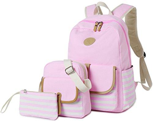 School Backpack for Girls, Gazigo Womens High School College Bookbags Laptop Bag ()