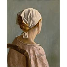 high quality polyster Canvas ,the Best Price Art Decorative Canvas Prints of oil painting 'Alexander Brook,Portrait Head,1937', 8x10 inch / 20x26 cm is best for Powder Room gallery art and Home gallery art and Gifts
