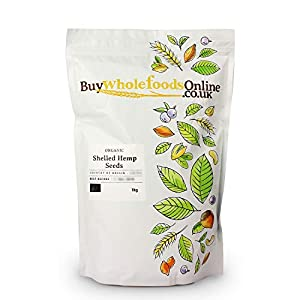 Buy Whole Foods Online Organic Shelled Hemp Seeds, 1 kg