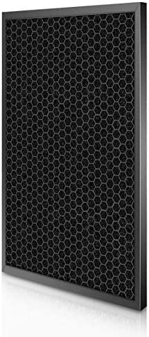 Zyj stores Air Purifier Parts Air Purifier Filter for Philips AC1215 HEPA Filter 360 * 275 * 27mm + Activated Carbon Filter 360 * 275 * 10mm Set Replace (Size : Hepa and carbon)