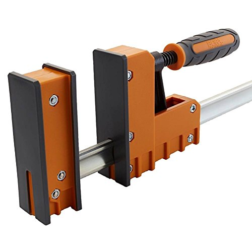 Bora 571124 Parallel Jaw Woodworking Clamp The Precision Clamp That's Simple to Use, Super Strong, and Provides Rock-Solid, Even Pressure, 24''