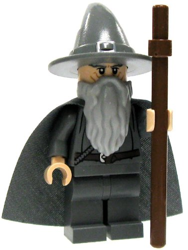 Lego Lord Rings Minifigure Gandalf