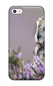 Hot 5223516K64852695 premium Phone Case For Iphone 5/5s/ Owl Tpu Case Cover