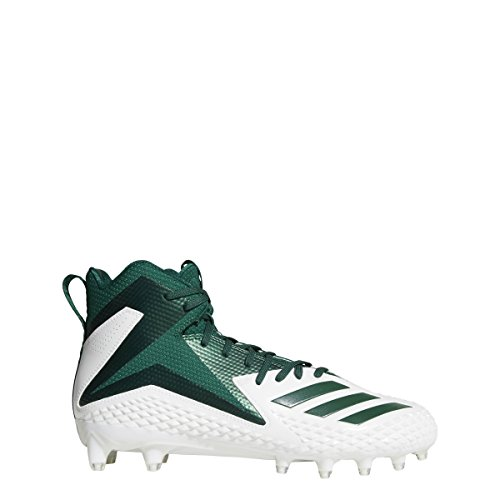 Scarpa Da Calcio Adidas Original Mens Freak X Carbon Mid Bianco-verde Scuro