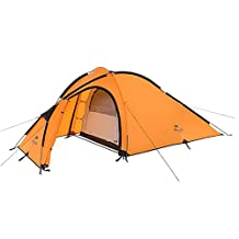 Naturehike Rainproof Lightweight 1-3 Person Camping Tent Double Layer Tent Outdoor Family Tent for 3 Season
