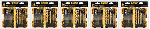 dewalt-dw1354-14-piece-titanium-drill-bit-set-jixufv-5-pack