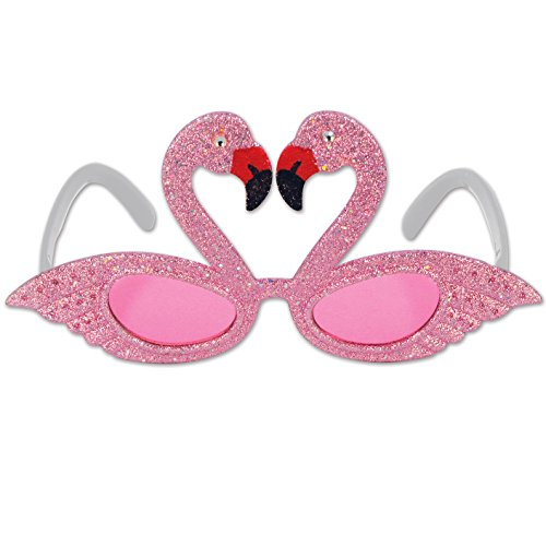 Beistle Glittered Flamingo Fanci-Frames Party Accessory (1-Unit)